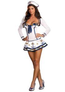 Sexy sailor costume